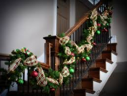 craftyourself post stair railing garland tierra este 16090