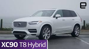volvo melds technology and luxury in the xc90 t8 hybrid