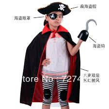 Pirate Halloween Costumes Kids Free Shipping Halloween Costume Kids Pirates Design 4 Piece