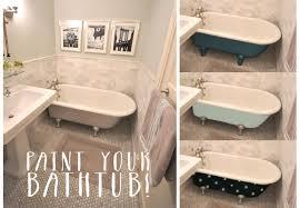 painting a vintage bathtub my colortopia