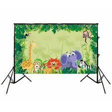 safari cartoon jungle safari backdrop u2013 sprinkie parties