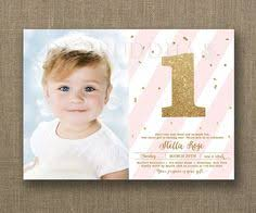 baby first birthday invites