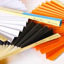 personalized paper fans paper fans