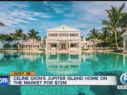celine dion jupiter island celine dion jupiter island home for sale for 72 5 million wptv com