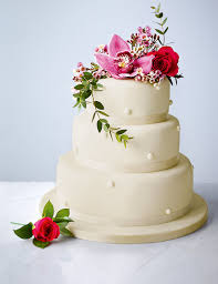 traditional wedding cakes buy romantic u0026 elegant cake m u0026s