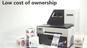 afinia label l801 color label printer overview youtube