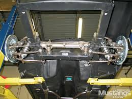 1968 mustang front suspension mustang ii style suspension system install project generation