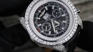 breitling bentley motors breitling bentley diamond case leather strap youtube