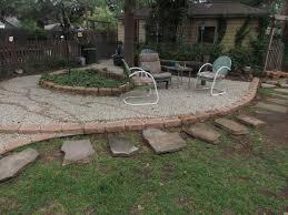 Pea Gravel Patio Gardening U0026 Landscaping Pea Gravel Patio Ideas Interior