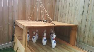 build your own backyard bowling alley make