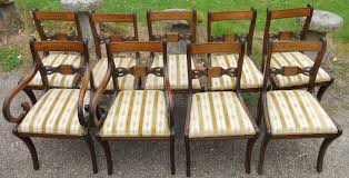 Style Mahogany Dining Room Suite - Regency dining room