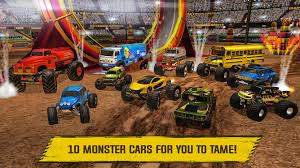 show me monster trucks monster truck arena driver android apps on google play