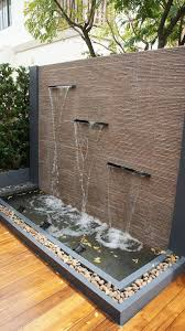 Outdoor Water Features With Lights by Best 25 Garden Water Features Ideas Only On Pinterest Water