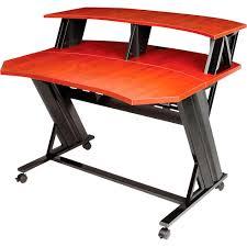Omnirax Presto 4 Studio Desk by Studio Trends 46 Desk Maple Standard Musical Instruments