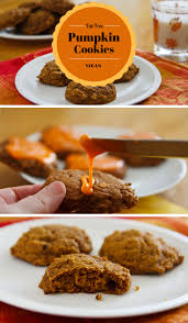 pumpkin cookies recipe from fatfree vegan kitchen