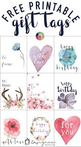 free printable gift tags for birthdays designer trapped in a