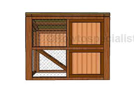 rabbit hutch roof plans howtospecialist how to build step by
