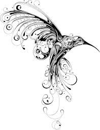 peaceful hummingbird tattoo for girls tattoomagz