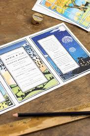 blog wolf whistle bespoke illustrated wedding stationery