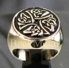 backmetal com rings more 21 x bronze rings celtic iron cross