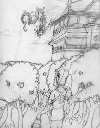 spirited away coloring pages studio ghibli spirited away