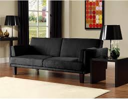 remarkable black microfiber futon sofa beds wooden sofa legs brown