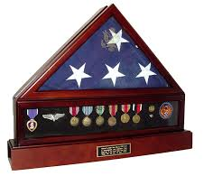 American Flag Specs Flag Display Cases Veterans Flag Cases