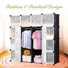 Schlafzimmer Schrank Container Kleiderschränke Aus Kunststoff Ebay