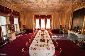 Dining Room Setting The State Dining Room Is Prepared For Festive Victorian Dessert