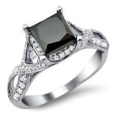 princess cut black engagement rings 67 best black engagement rings that rock images on