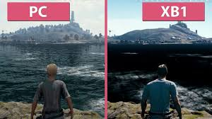 pubg xbox one x graphics 1080p60 pubg pc ultra vs xbox one frame rate test graphics