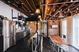 wework communal kitchen in chinatown nyc