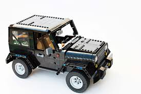 land rover lego tell lego it has to build this impeccable fan made jeep wrangler