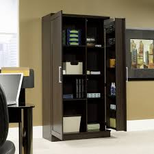 sauder homeplus swing out storage cabinet hayneedle