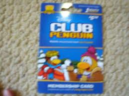 club penguin gift card free club penguin membership code