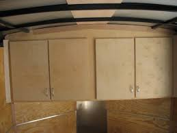 V Nose Enclosed Trailer Cabinets by Enclosed Trailer Cabinets Cabinets For Enclosed Trailers Custom