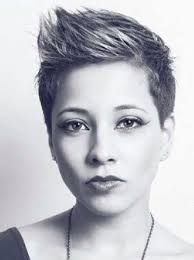 very short pixie hairstyle with saved sides love this cute spiky pixie cut hair pinterest pixie cut