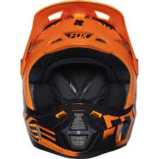 monster motocross helmets fox racing 2016 v2 union helmet orange available at motocross giant