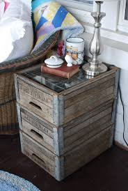 Cool Side Tables Cool Diy Pallet Side Table With Clay Vase For Corner Decor Living