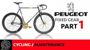 peugeot bike vintage bike maintenance part 1 the strip down vintage peugeot