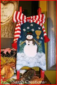 394 best painted sleds images on pinterest christmas ideas sled