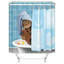 gwein animals kitten cat bathing decor shower