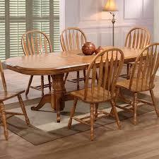 double pedestal dining room table sets 7 pc hampton ii antique