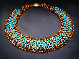 beads necklace tutorial images Free pattern for beaded necklace paula beads magic jpg