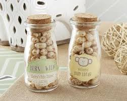 kate aspen favors personalized milk jars born to be baby shower favors by kate
