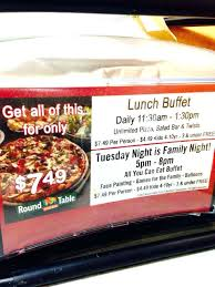 round table pizza lunch buffet hours round table pizza buffet hours round table lunch buffet ca round