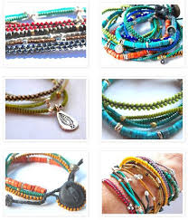 How To Make Bohemian Jewelry - 1509 best צמידים צבעוניים images on pinterest jewelry diy