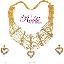 fashion jewellery necklace set images Beautiful fancy design bridal necklace set with earrings jpg