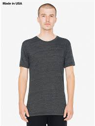 fine jersey crewneck t shirt american apparel