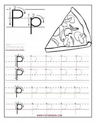 free printable letter p tracing worksheets for preschool free
